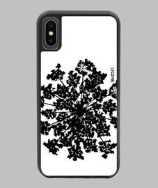 Flor negra - Carcasa iPhone