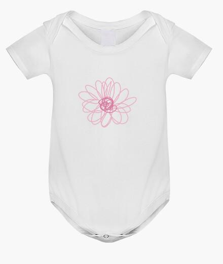 Ropa infantil Flor rosa