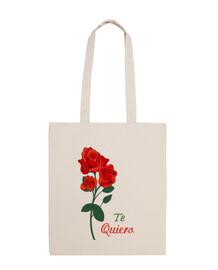 flor rosa roja