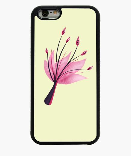 Funda iPhone 6 / 6S flor rosada abstracta del lirio de agua