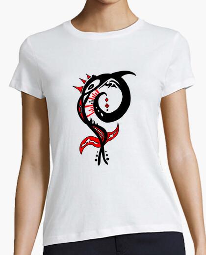 Camiseta flor silvestre