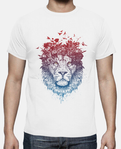 Floral lion III