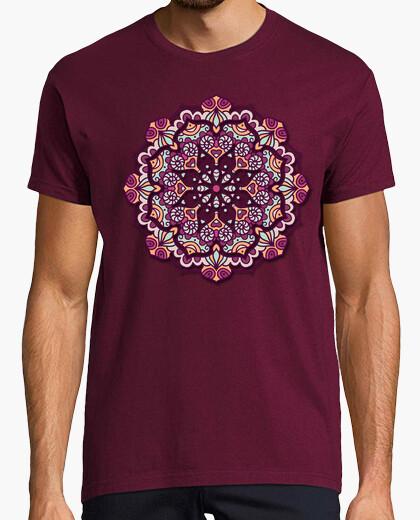 Tee-shirt floral mandala