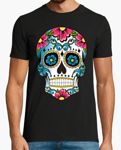 T-shirt floreale Calaca Meji can a