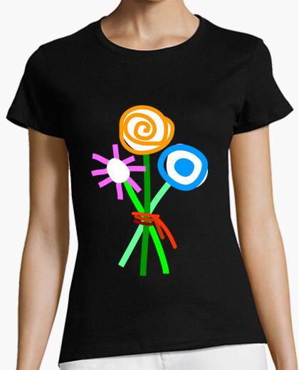 Camiseta FLORES ABSTRACTAS 2