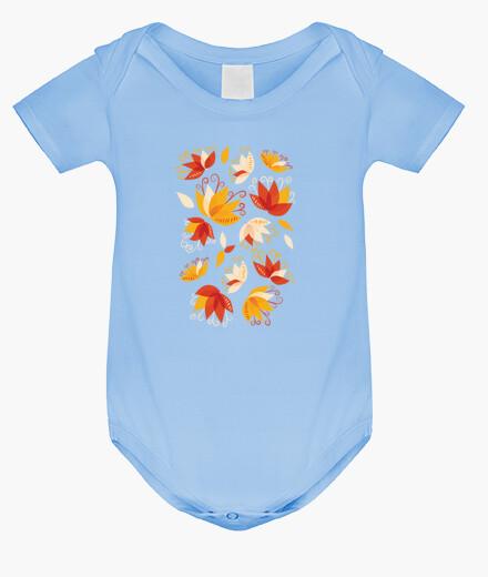 Ropa infantil flores de lirio abstracto caprichoso