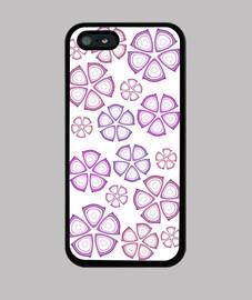 flores fuschia iphone 5