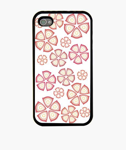 Funda iPhone flores rojas iphone 4