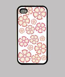 flores rojas iphone 4