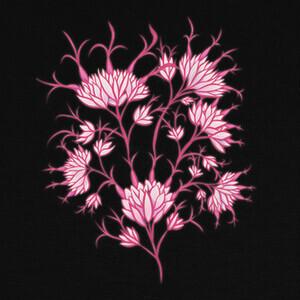 flores rosas decorativas florales T-shirts