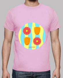 flower power: man t-shirt
