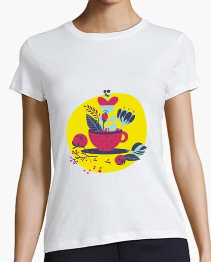 Camiseta Flowering  tea