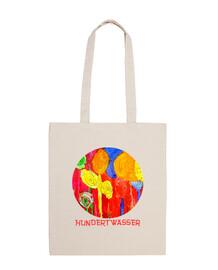 Flowers by Hundertwasser