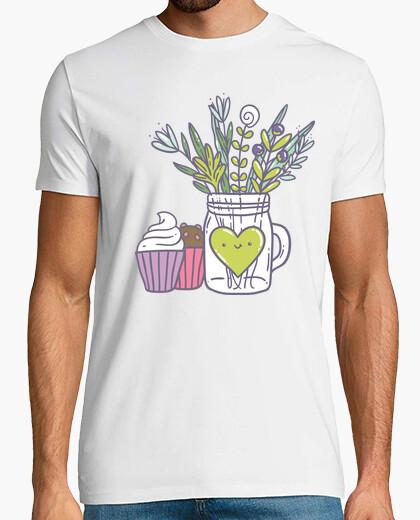 Camiseta Flowers in a jar
