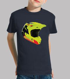 Fluor Helmet - Niño, manga corta, azul marino