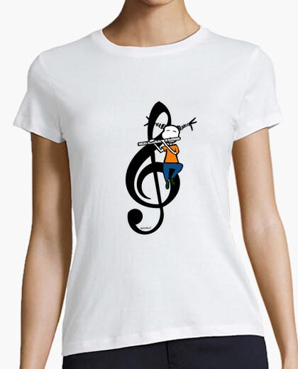 Camiseta Flute life