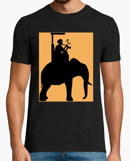 Tee-shirt flûtiste sur élépontt