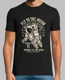fly sulla moon
