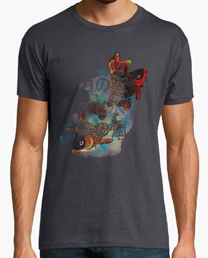 Camiseta Flying Carps chico gris