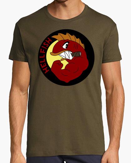 Camiseta Flying Hellfish - Pez Volador