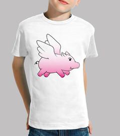 flying pig / winged piglet