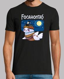 focahontas t-shirt da uomo