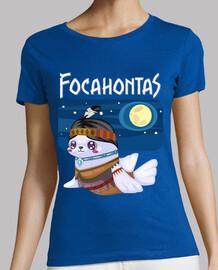 focahontas tee-shirt bretelles