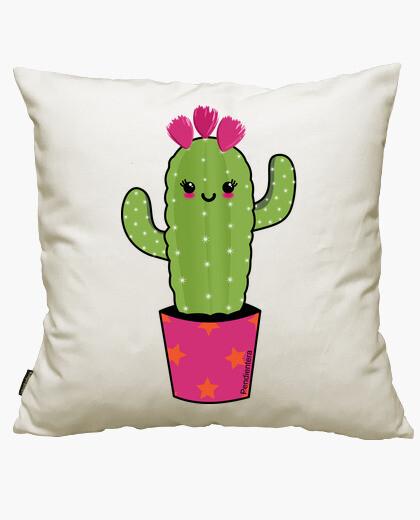 Fodera cuscino cactus kawaii