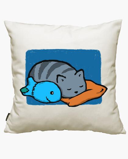 Fodera cuscino dormire con i pesci