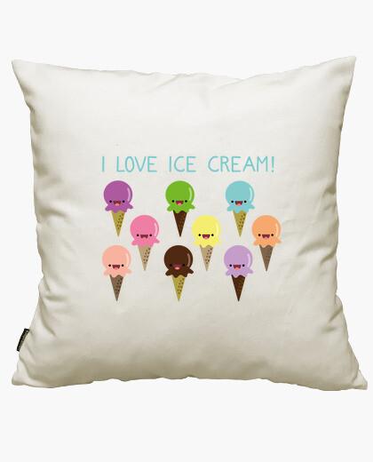 Fodera cuscino i love ice cream