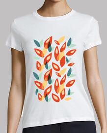 foglie autunnali geometriche astratte