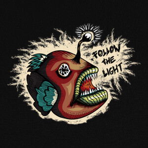 Camisetas Follow The Light