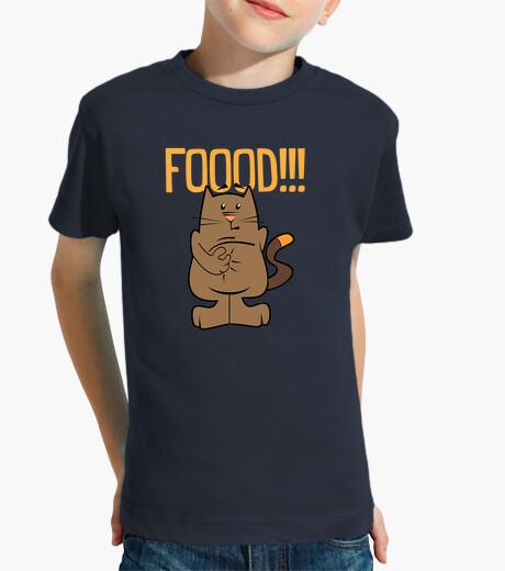 Ropa infantil Food. Cat. Niño, manga corta, azul marino