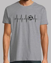 football dans le coeur (fond clair)