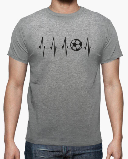 Football in the heart (light background) t-shirt