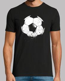 Football Soccer Ball-Sports-eroded-Goal