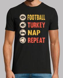 football turkey nap - repeat shirt than