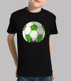football vert et blanc