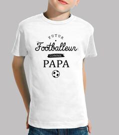 footballer like dad