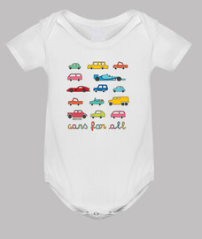 for all cars | baby bodysuit
