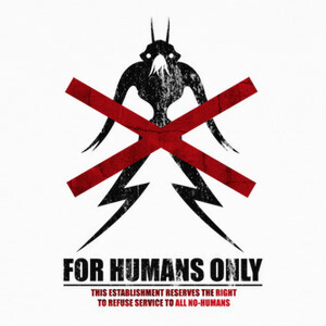 Camisetas For Humans Only (District 9)