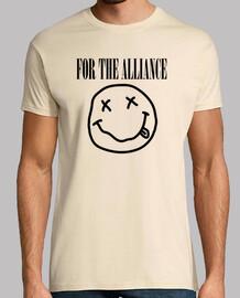 For the Alliance - Nirvana (black)