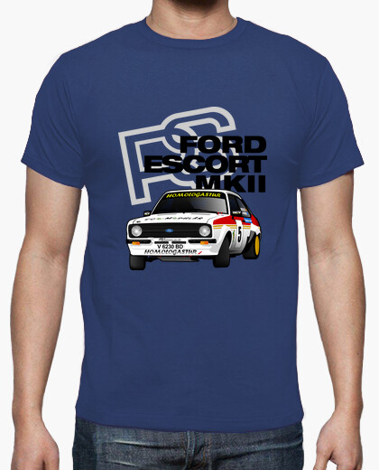 FORD ESCORT MKII RS ORDIALES Camiseta