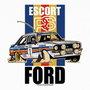 Tee-shirts FORD ESCORT RS MK2