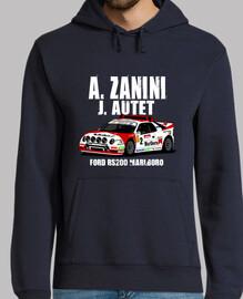 FORD RS200 ZANINI AUTET Sudadera