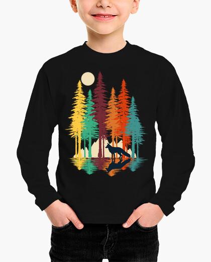 Forest fox children's clothes