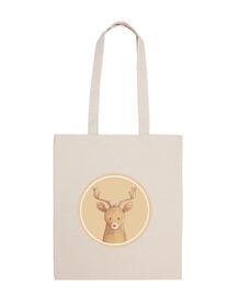 Forest portrait - deer