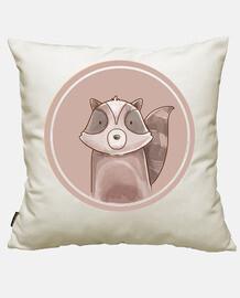 Forest portrait - raccoon