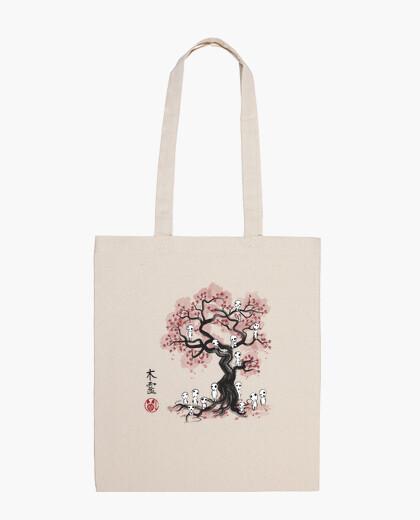 Bolsa Forest Spirits Sumi-e