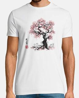Forest Spirits Sumi-e